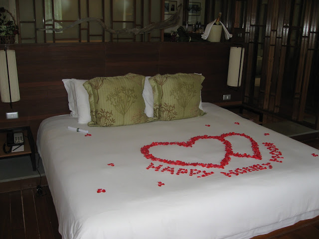 A honeymoon surprise at The Sarojin in Thailand