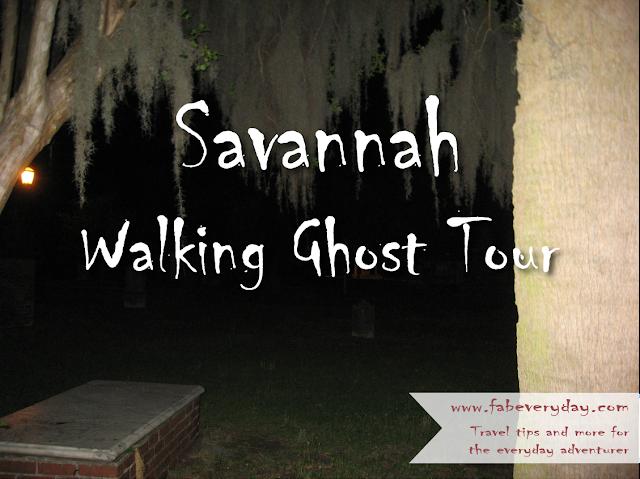 DIY free Savannah walking ghost tour