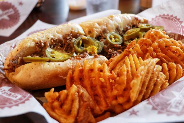 The Texican Sandwich at Texadelphia - Where to eat in Austin, TX