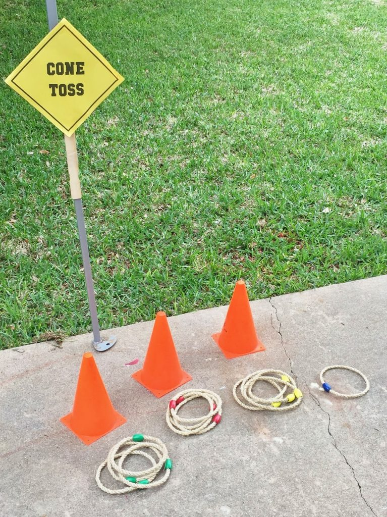 construction themed birthday party game ideas