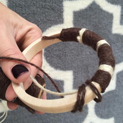 DIY Jute Bangle Bracelets for women's safari clothing accessories