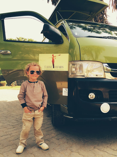 safari clothes for kids: adorable toddler boy layered henley safari outfit