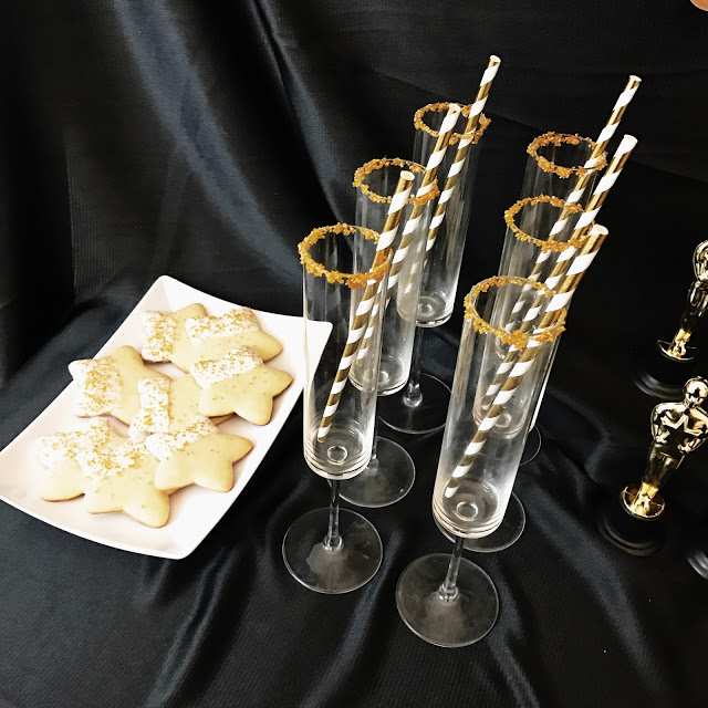 oscar party or hollywood theme party food and drink ideas