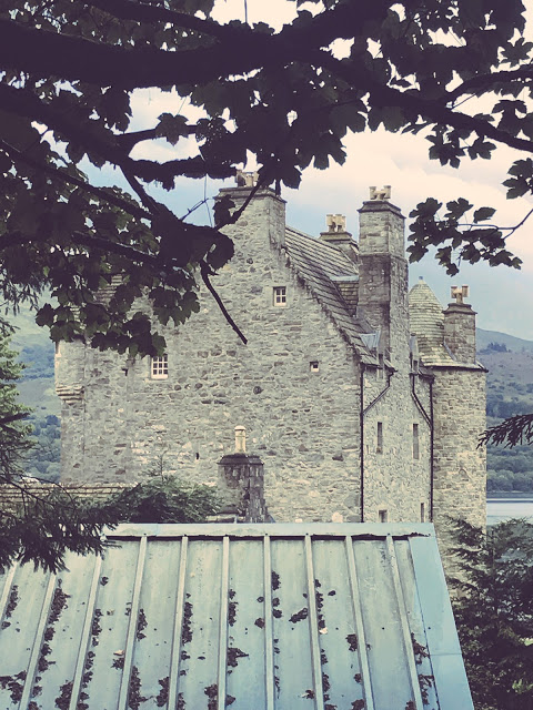 Dunderave Castle (the former castle of Clan MacNaughton)