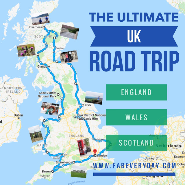 The Ultimate UK Road Trip Itinerary - Driving Tour of England, Scotland, and Wales with the Family