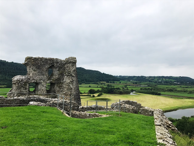 Dryslwyn Castle - sight to see during a driving tour in wales