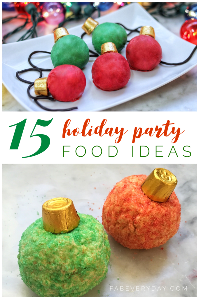 15 fun and easy Christmas party food ideas