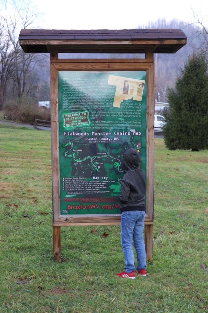 washington dc road trip itinerary: Learning about the Flatwoods (or Braxton County) Monster in West Virginia