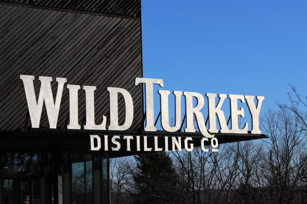 road trip from texas to washington dc - Wild Turkey Distillery on the Kentucky Bourbon Trail