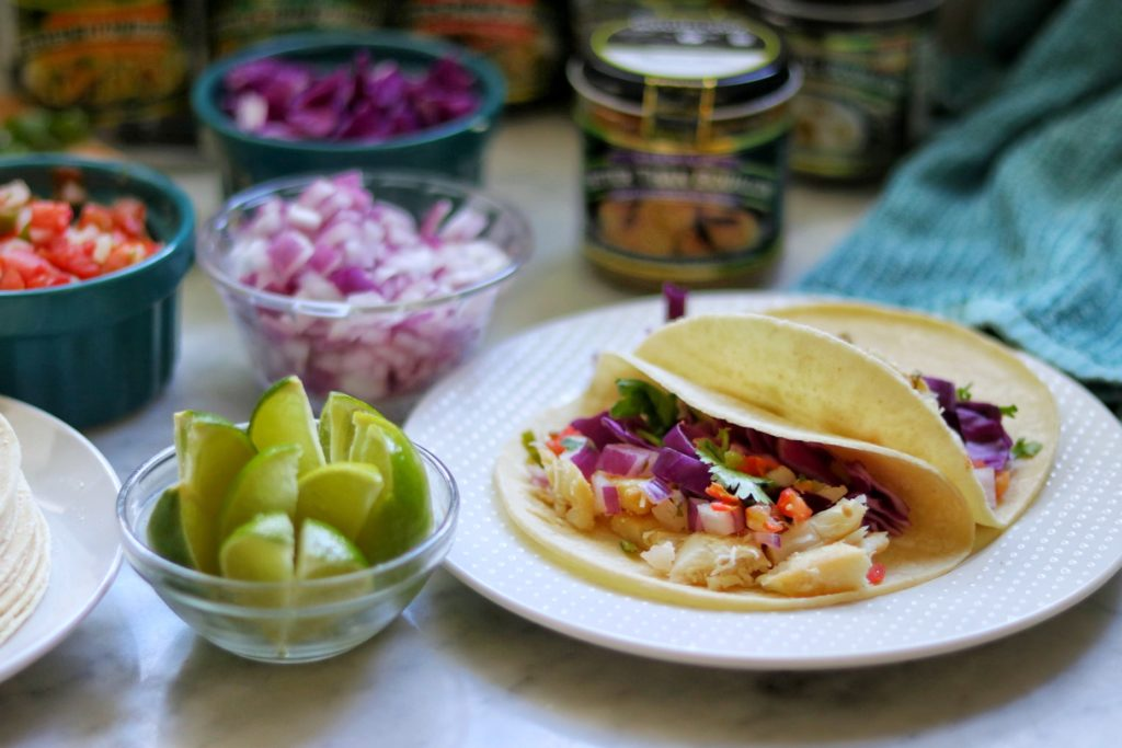 Easy grilled fish tacos recipe