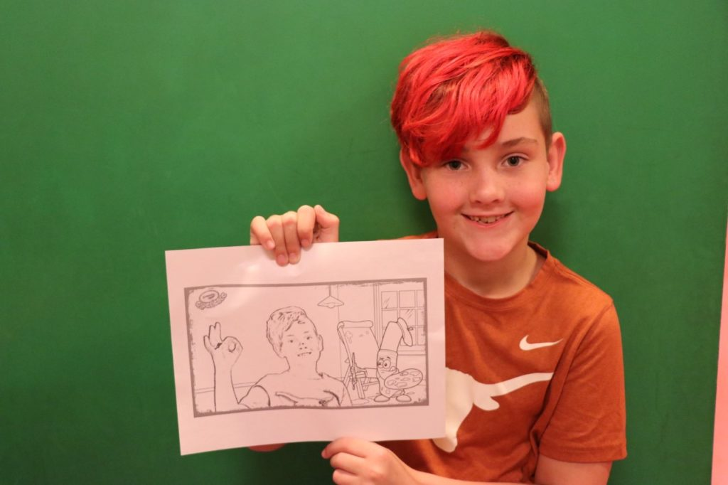 generate your own coloring pages at Crayola Experience Mall of America