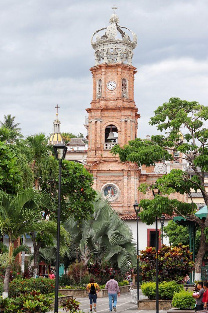 La Iglesia de Nuestra Senora de Guadalupe, or Church of Our Lady of Guadalupe in Puerto Vallarta