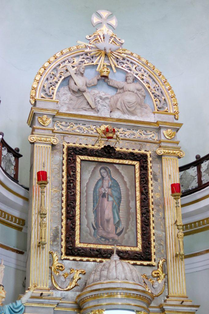 La Iglesia de Nuestra Senora de Guadalupe, or Church of Our Lady of Guadalupe