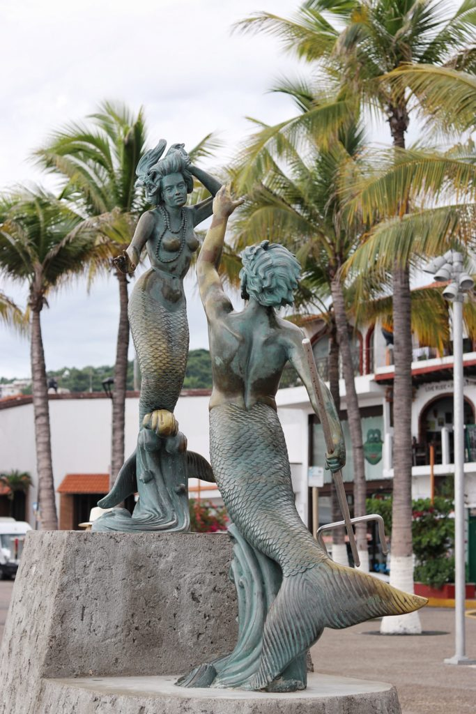 Triton and Sirena by Carlos Espino