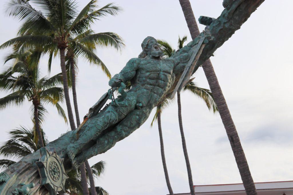 Millennium sculpture at the Malecón in Puerto Vallarta