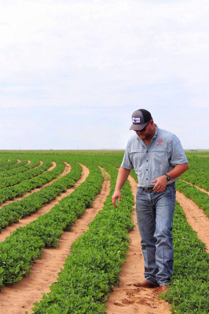 Mason Becker, Texas peanut farmer of 4MB Farms