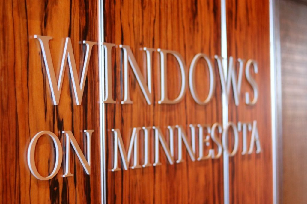 Windows on Minnesota event space at The Marquette Hotel in Minneapolis