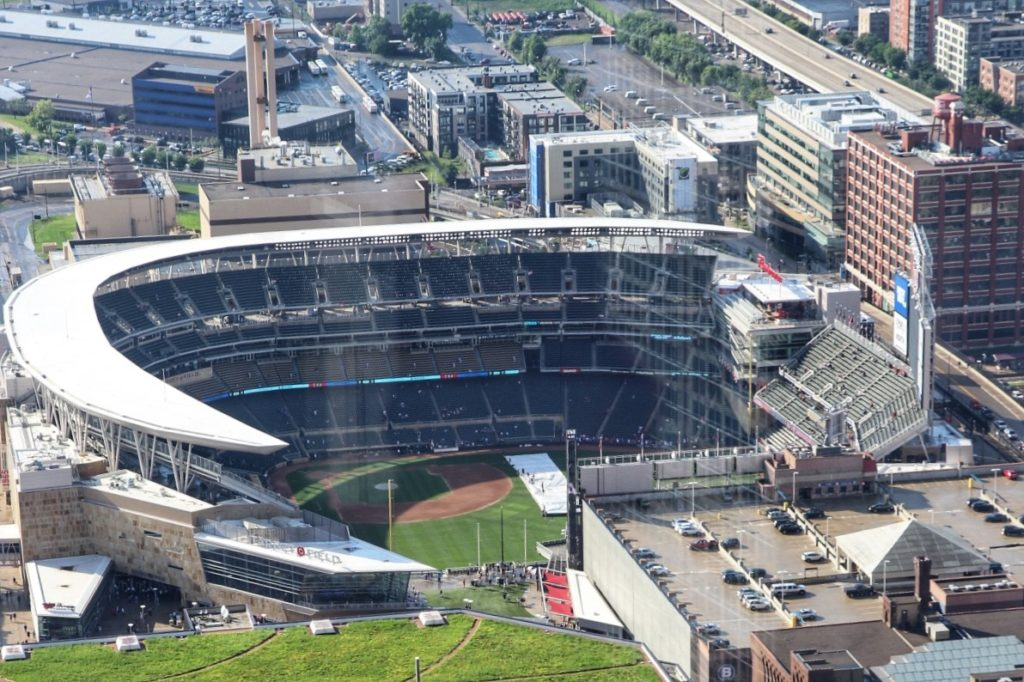 View of Target Field from Windows on Minnesota