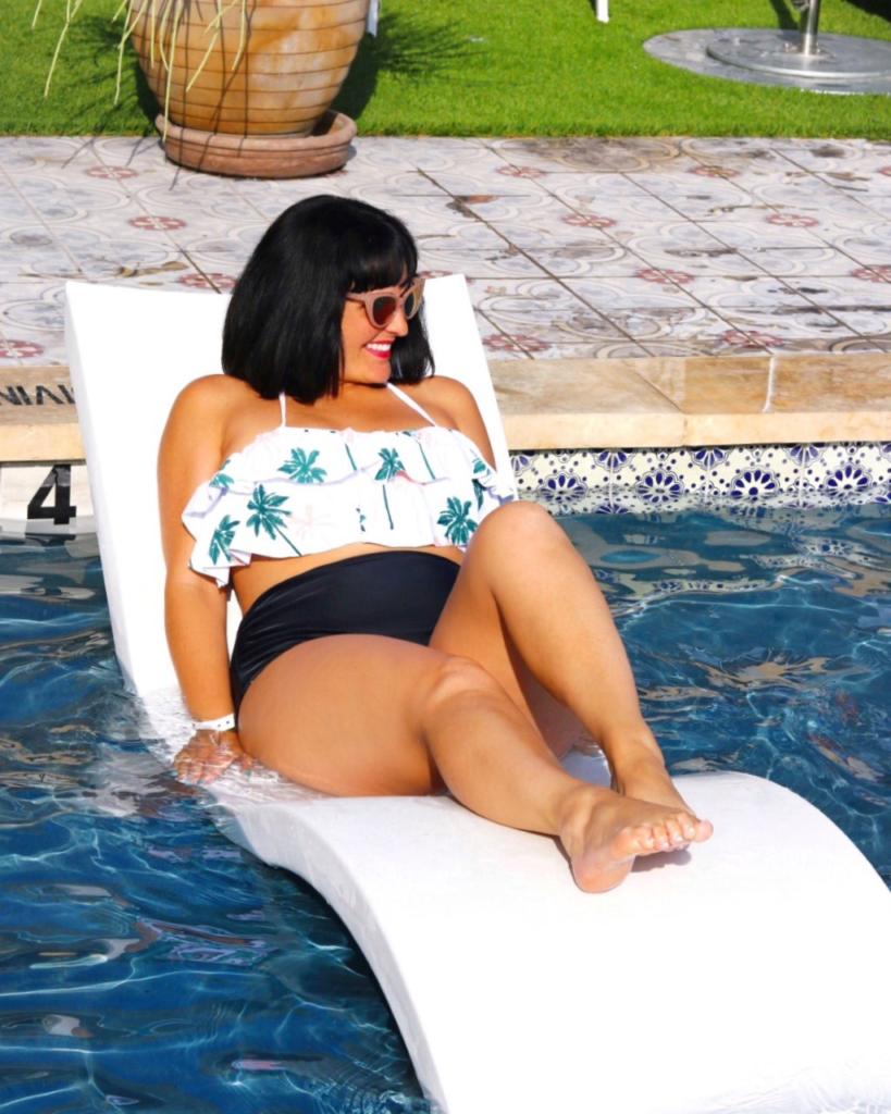 trendy and flattering vintage style bikini