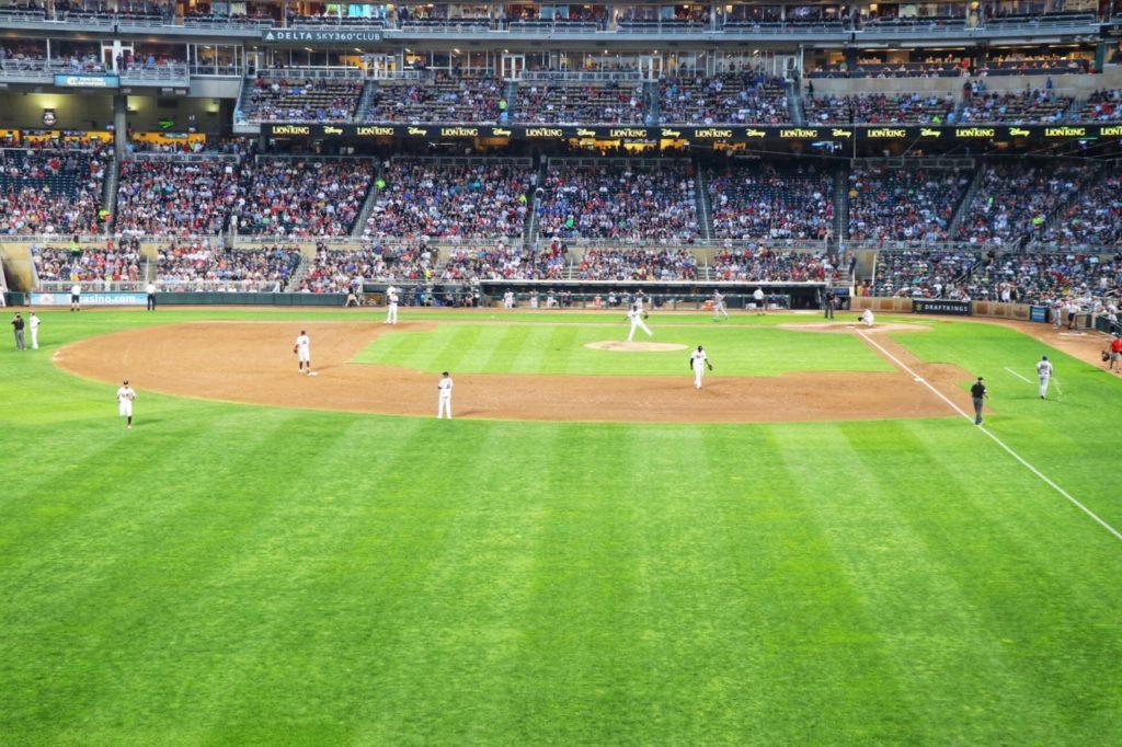 Minnesota Twins Target Field in Minneapolis
