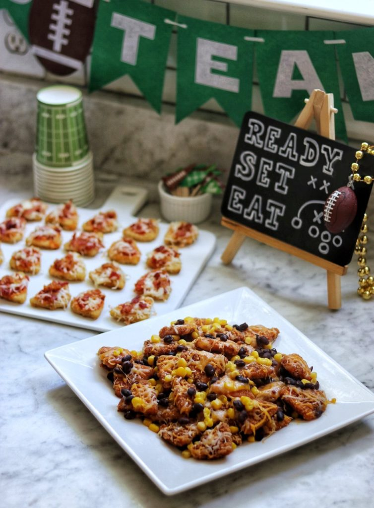 4-ingredient football party appetizer recipes