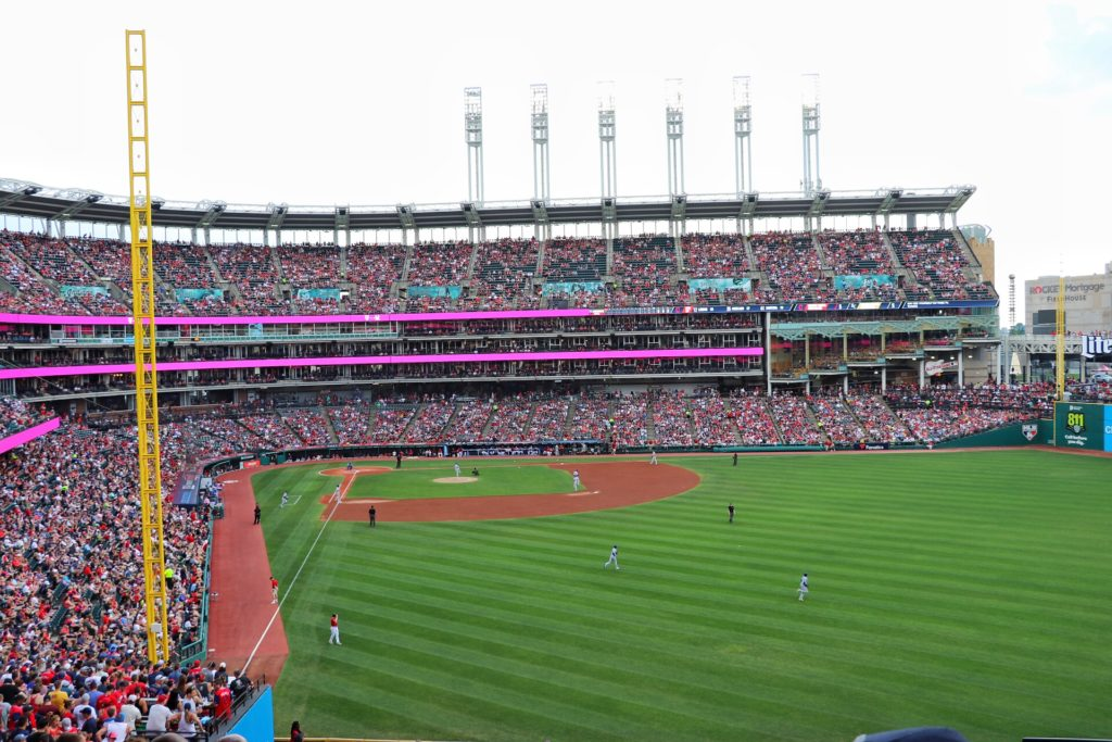 visiting cleveland with kids for an indians game