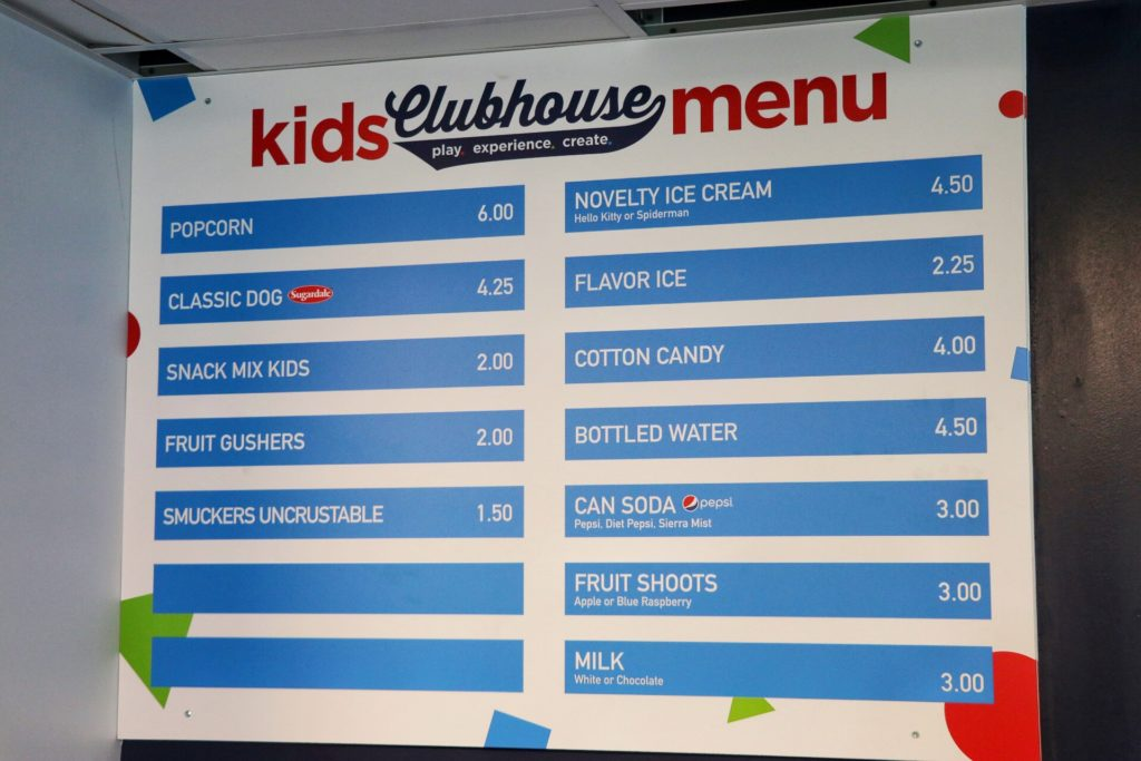 things to do in clevland with kids: see an indians game at progressive field. the kids clubhouse is so fun and even has a kid-size concession stand