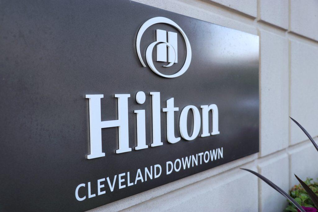 Hilton Cleveland downtown hotel