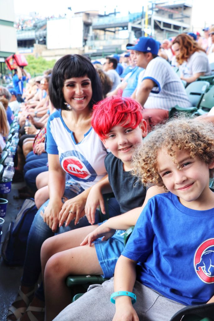 ultimate family baseball road trip through the midwest: chicago cubs game at wrigley field
