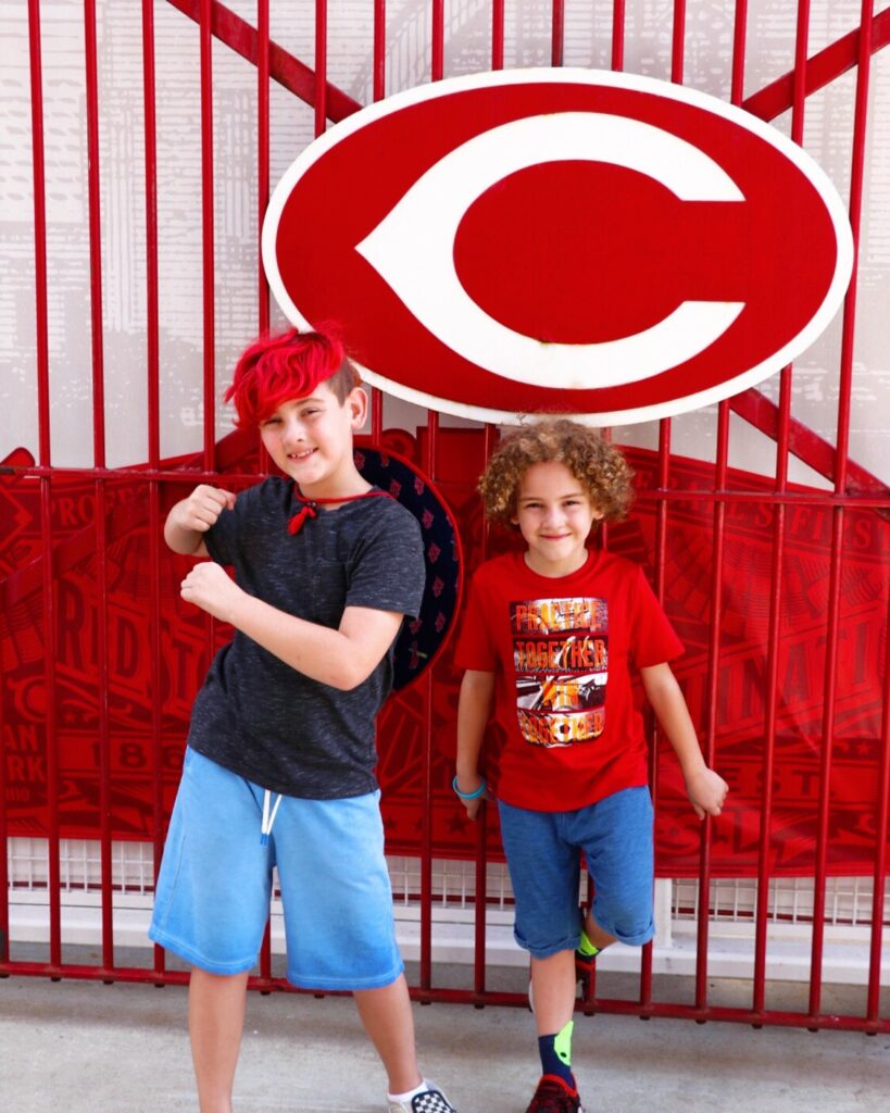 Attending a Cincinnati Reds game with kids