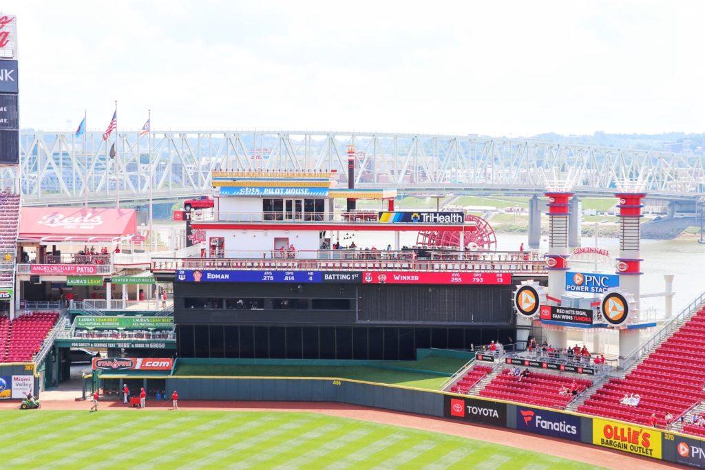 Cincinnati Reds game at Great American Ballpark