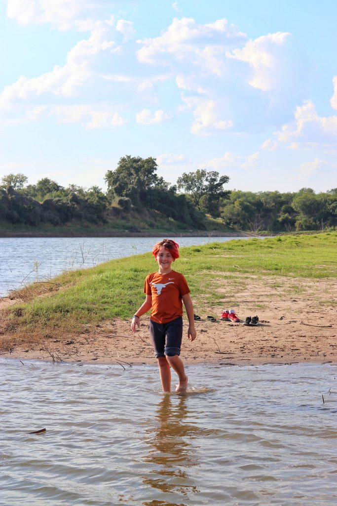 Camping at LCRA Shaffer Bend Recreation Area in Marble Falls, Texas