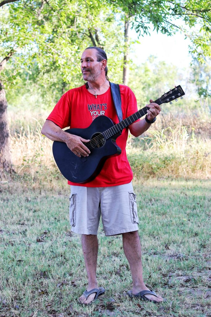 Central Texas musician Colt Bucklew, Texas Crossing