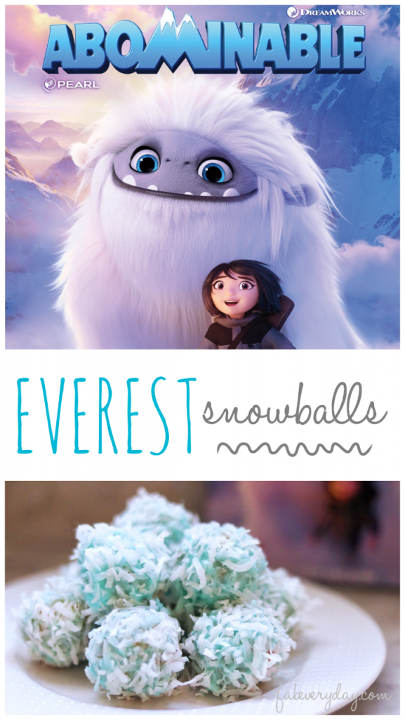 Abominable party Everest Snowballs recipe