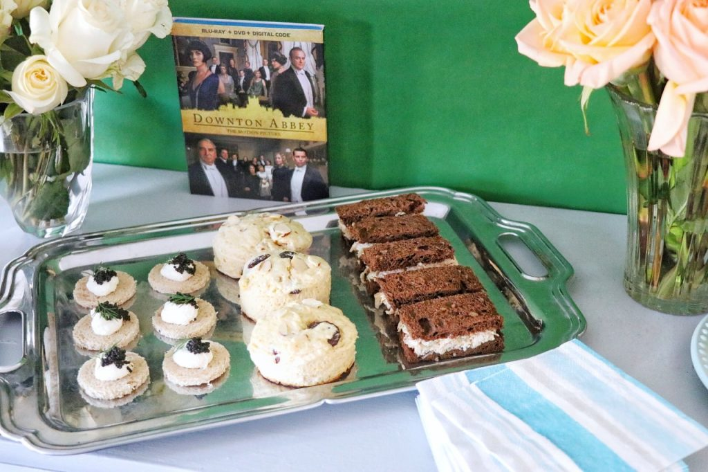 Food ideas for a downton abbey themed tea party