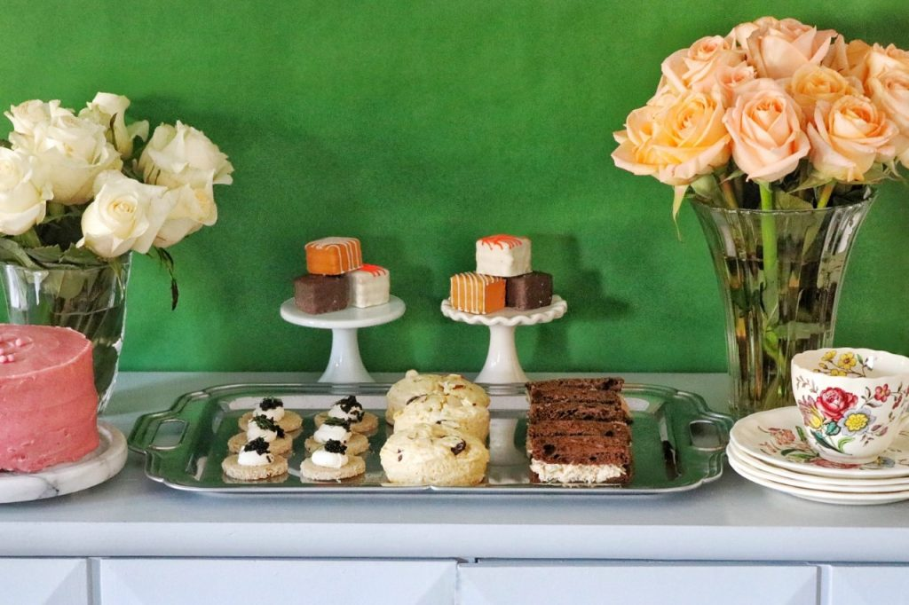 decor and food ideas for a downton abbey tea party