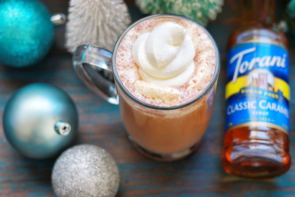 Sugar-Free Keto Salted Caramel Hot Cocoa