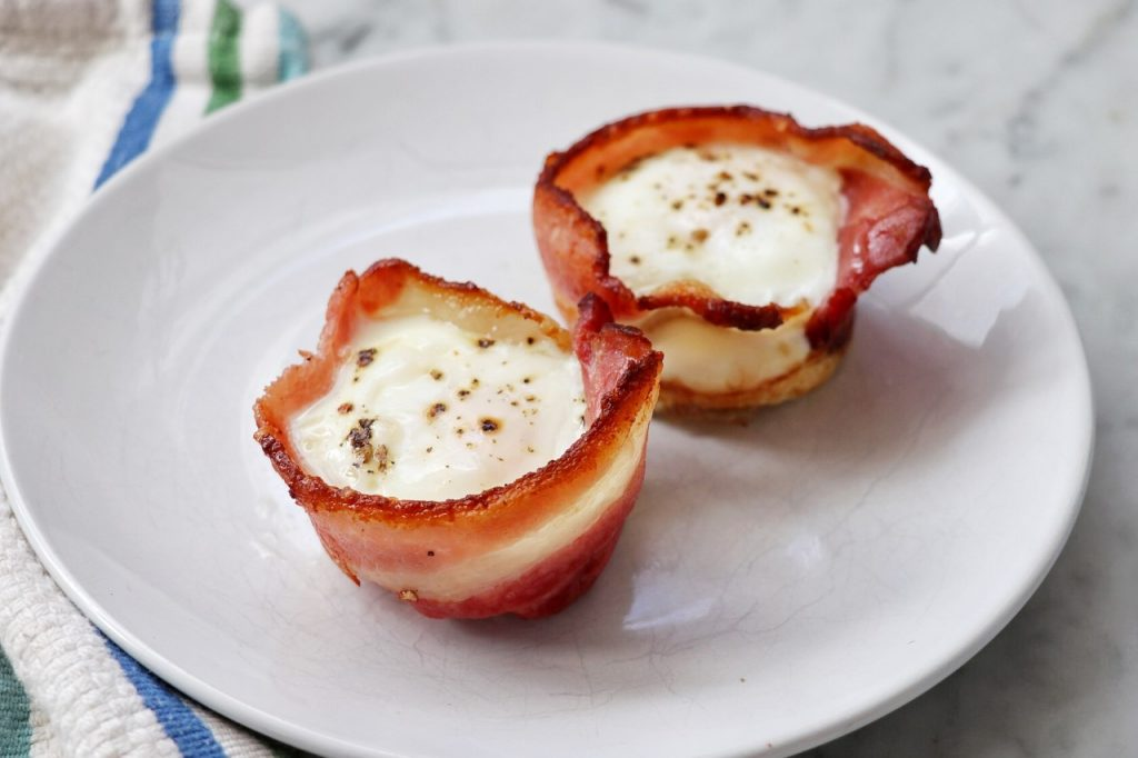 Easy Baked Bacon and Egg Bites recipe