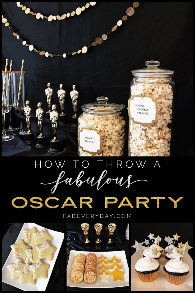 How to throw a fabulous Oscars Academy Awards watch party