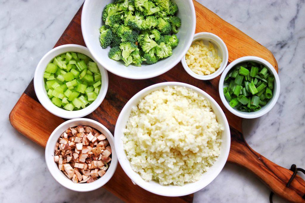 how to make Keto Cauliflower Fried Rice