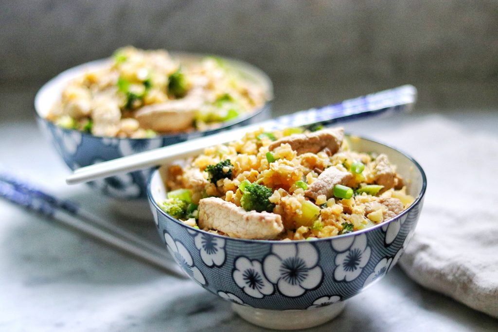 keto fried rice recipe