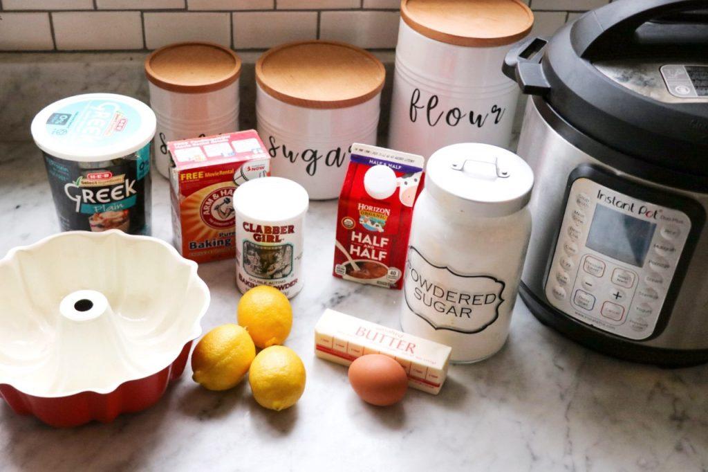 instant pot bundt cake recipes