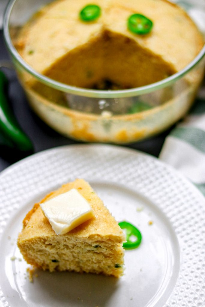 pressure cooker cornbread recipe: Instant Pot Sweet Jalapeño Cornbread recipe