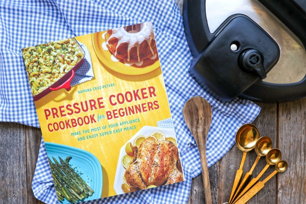Instant Pot Hearty Beef and Bean Pasta recipe from Pressure Cooker Cookbook for Beginners by Ramona Cruz-Peters