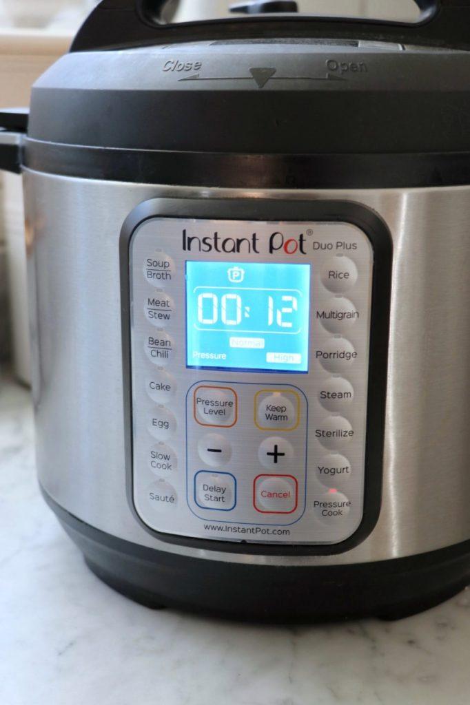 Easy, dump, mix, and go Instant Pot Feta, Spinach, and Artichoke Dip recipe