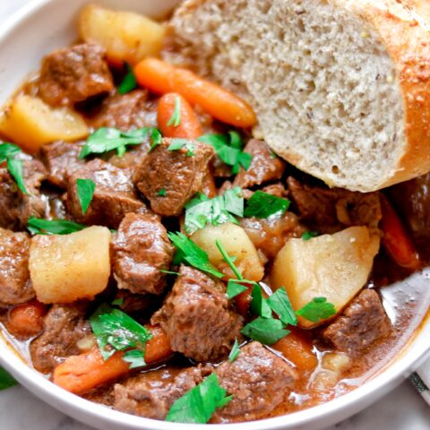 Instant Pot Irish Stout Beef Stew