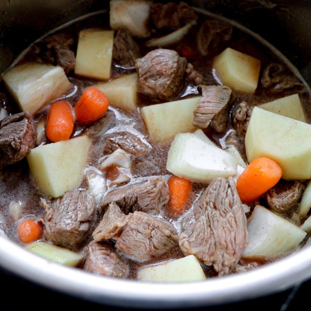 How to make Instant Pot Irish beef stew